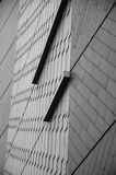 Abstract Lines in Black and White Royalty Free Stock Photos