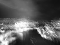 Abstract lines, dark and light concept stock photography