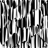 Abstract Lines Design Black and White Stripes Vector Stock Image