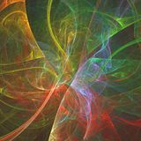 Abstract lines fractal, fantasy backgroundin autumn colors. Comp. Abstract lines fractal, fantasy background in autumn colors. Computer generated graphics for stock illustration