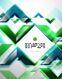 Abstract lines geometrical background Stock Photography
