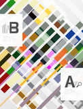 Abstract lines geometrical modern background vector illustration