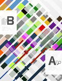Abstract lines geometrical modern background royalty free illustration