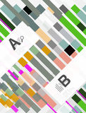 Abstract lines geometrical modern background stock illustration