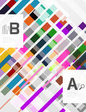 Abstract lines geometrical modern background. Abstract lines vector geometrical modern background royalty free illustration
