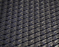 Abstract lines and industrial metal mesh pattern. Royalty Free Stock Image