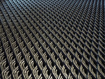 Abstract lines and industrial metal mesh pattern. Stock Photo