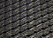 Abstract lines and industrial metal mesh pattern. Stock Images