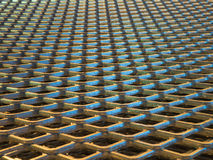 Abstract lines of industrial metal mesh pattern. Royalty Free Stock Image