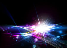 Abstract Lines with Light Background Royalty Free Stock Photo