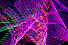 Abstract Lines of Light Stock Photo