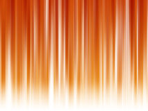 Abstract lines on orange - red background Stock Photography