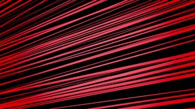 Abstract lines in red on black stock video