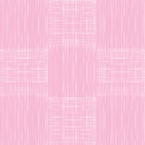 Abstract lines retro fabric textile textured seamless pattern background pink color Royalty Free Stock Images