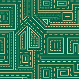 Abstract lines seamless pattern Royalty Free Stock Photography