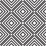 Abstract lines seamless pattern. Modern stylish geometric backgr Stock Photo