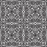 Abstract lines seamless pattern. Modern stylish geometric backgr Royalty Free Stock Photography