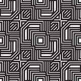 Abstract lines seamless pattern. Modern stylish geometric backgr Royalty Free Stock Photos