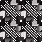 Abstract lines seamless pattern. Modern stylish geometric backgr Royalty Free Stock Images