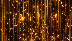 Abstract lines and sparks. Digital illustration Royalty Free Stock Photo