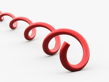 Abstract lines, spiral concept Stock Image