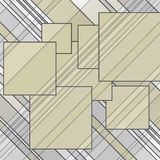 Abstract lines squares Stock Photo