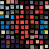 Abstract lines and squares illustration Stock Images