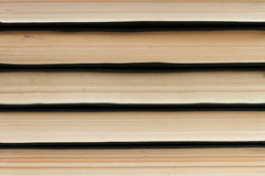 Abstract lines. Stack of books Stock Photo