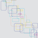 Abstract lines.Vector illustration Stock Photography