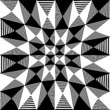 Abstract liny, checkered pattern. With distortion effect- Royalty free vector illustration Stock Images