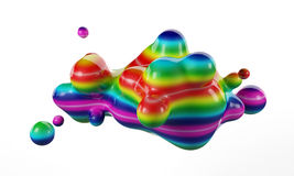Abstract liquid Royalty Free Stock Images