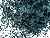 Abstract liquid splash background Royalty Free Stock Images