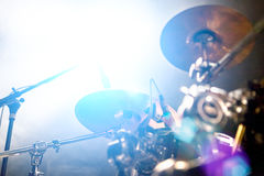 Abstract live music background.Public and drum Royalty Free Stock Photo