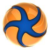 An abstract logo Stock Image
