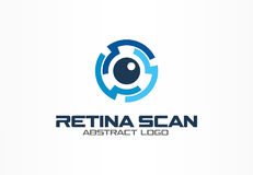 Abstract logo for business company. Corporate identity design element.. Abstract logo for business company. Corporate identity design element. Retina circle Royalty Free Stock Image