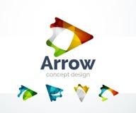 Abstract logo design Royalty Free Stock Photos
