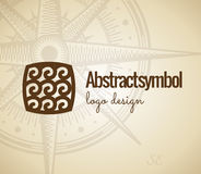 Abstract Logo design. Concept wave geometric shapes Stock Photo