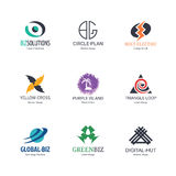 Abstract logo design Royalty Free Stock Photos