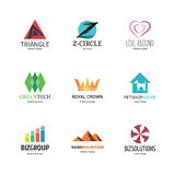 Abstract logo design Stock Photos