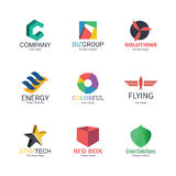 Abstract logo design Royalty Free Stock Image