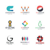 Abstract logo design Royalty Free Stock Images