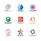 Abstract logo design Royalty Free Stock Photo