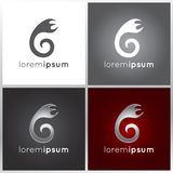 Abstract logo design Stock Photography