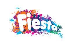 Abstract logo for the Fiesta. Vector illustration.  vector illustration