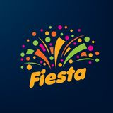 Abstract logo for the Fiesta. Vector illustration. royalty free illustration