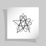 Abstract Logo Icon Stock Foto