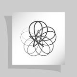 Abstract Logo Icon Royalty-vrije Stock Afbeeldingen