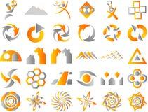 Abstract Logo Icon Design Elements Royalty Free Stock Photos