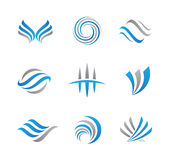 Abstract logo and icon Stock Photography