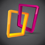 Abstract Logo Style Vector Composition Stock Images